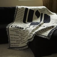 Custom Woven Throw by Kanata Blanket Company