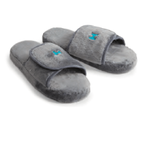Plush Lounge Slippers by Kanata Blanket