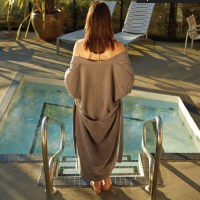 Microfiber Spa Robe by Kanata Blanket
