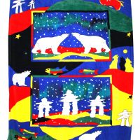 Custom Printed Velura™ Throw blankets by Kanata Blanket