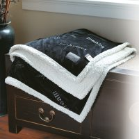 Custom Thank You Country Lambswool blankets by Kanata Blanket