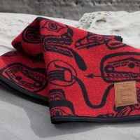 "Haida ""Dreamtime"" Wool Blankets by James Hart and Kanata Blanket"