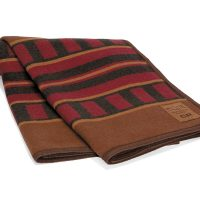 Sleeping Car Wool Blanket throws by Kanata Blanket