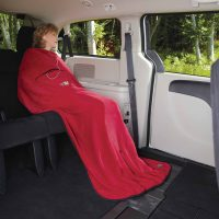 Velura Travel Quillow – Red – 40168 Lifestyle