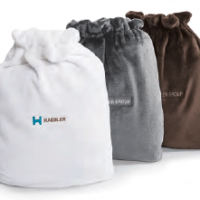 Plush Tote Bag by Kanata Blanket