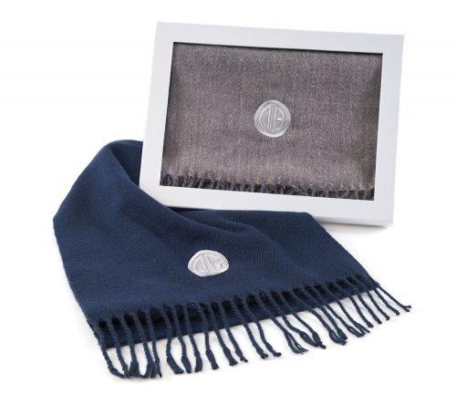 Herringbone-Scarf-Gray-Blue-Box