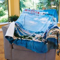 FOTO Vision™ Plush Throw by Kanata Blanket