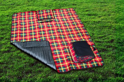 Canadian Tartan Picnic Blanket
